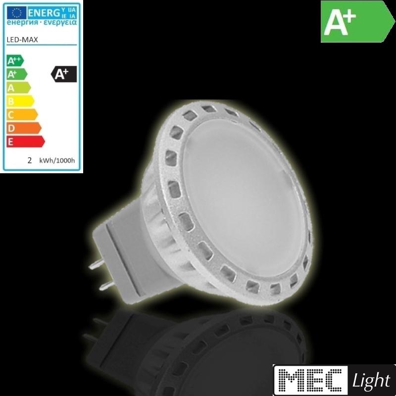 mr11 gu4 led strahler 2w 120lm 120 abstrahlwinkel warm wei ebay. Black Bedroom Furniture Sets. Home Design Ideas